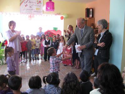 Среща с НП Герхард Райвегер - посланик на Австрия - ДГ 44 Калина - София